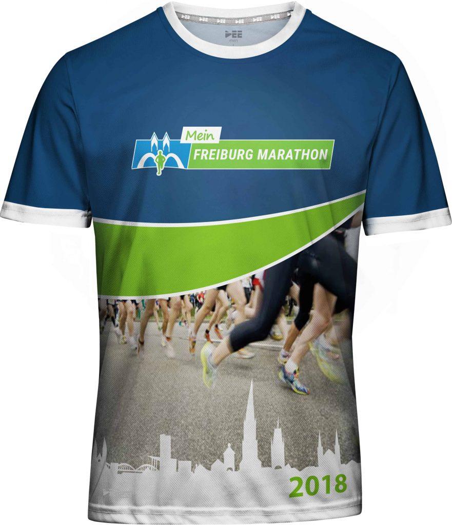 Finisher-Shirt des MEIN FREIBURG MARATHON